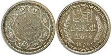 TUNISIE 10 FRANCS 1939 ESSAI LEC 333