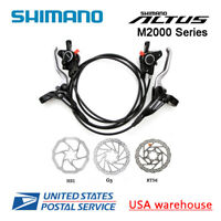 2019 New SHIMANO Altus BR-BL-M365 Hydraulic Disc Brake Set MTB F&R HS1 RT56 OE