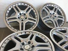 """4 orig. AMG Felgen 19 """" Mercedes R230 W203 R171 W211 SL65 E63 E55 C55 SLK55"""
