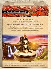 Waterfall Incense holder 20 Backflow Cones Included