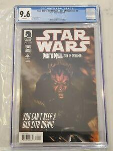 Star Wars: Darth Maul - Son of Dathomir #1 CGC 9.6 1st Dark Saber