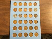 Complete Set Lincoln Cents(Pennies)Wheatback PDS, 1940 - 1949
