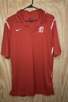 Nike Red Dri-Fit Embroidered Polo Men's Size M