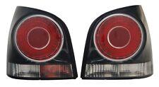2 FEUX ARRIERE GAUCHE DROIT NOIR VW POLO 9N 1.2 12V 06/2005-06/2009