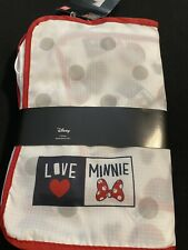 DISNEY MINNIE MOUSE 3 piece packing case set NWT