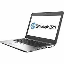 "Open Box HP Elitebook 820 G4 12.5"" Notebook, Windows, Intel Core i5 2.5 GHz, 4 G"