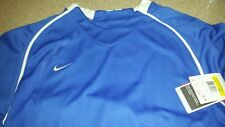 Nike FC Soccer Futbol Varsity Jersey Shirt Mens Dri Fit Royal Blue Small