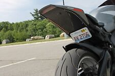 """11.5"""" LED Motorcycle Turn Signals Flexible Strip Blinkers Tail R1 R6 YZF"""