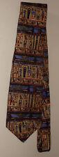Smithsonian Institution Egyptian Hieroglyphics 100% Silk Necktie