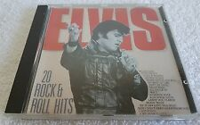 ELVIS PRESLEY 20 ROCK & ROLL HITS CD WEST GERMANY/KOREA PRESSING CD NO BARCODE