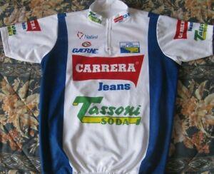 Maillot Ciclista CARRERA Tour France Chiappucci Pantani 1992 Season Vintage