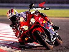 2001 HONDA MOTORCYCLE & ATV BROCHURE-GOLDWING-VALKYRIE-CBR-SHADOW-SCOOTER-CR-XR
