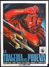 CINEMA-manifesto LA TRAGEDIA DEL PHOENIX craig,sanders,cushing,FREND