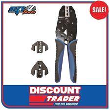 SP Tools 5 Piece Quick Change Ratchet Crimper Kit - SP32287