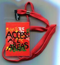 CLIFF RICHARD   'ACCESS ALL AREAS'   BACKSTAGE PASS WITH NECK CORD