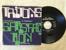 Tritons – (I Can't Get No) Satisfaction - 7' Vinile 45 giri