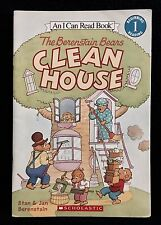 The Berenstein Bears CLEAN HOUSE An I Can Read Book Level 1 PAPERBACK Scholastic