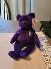 Ty Beanie Baby-Princess Diana Bear- Rare! W/Errors!   Vintage Rare 1997
