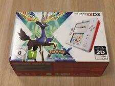 Nintendo 2DS Pokemon X Limited Edition Weiß & Rot NEU & VERPACKT