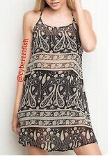dfe26a96fb5 SOLD OUT!!! Brandy Melville Sheer Black Paisley Belle Slip Dress NWOT  1011