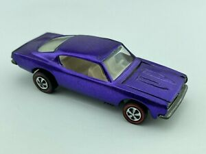 Hot Wheels Redline CUSTOM BARRACUDA Purple US White Int EX/NM Very Nice !!