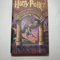 Harry Potter and the Sorcerer's Stone Hardcover First American Edition 10/1998