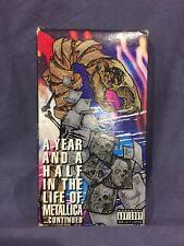 Metallica - A Year And A Half in the Life of Metallica - Part 02 (VHS, 1992)