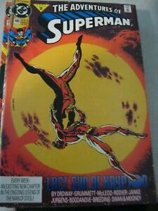 adventures of superman #480