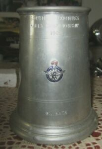 Southern Counties Rally Championship 1962 Award Pewter Stein Civil Service