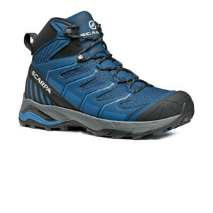 Scarpa Mens Maverick GORE-TEX Walking Boots Blue Sports Outdoors Waterproof