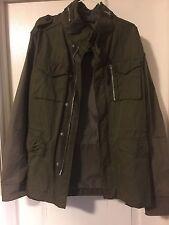 All Saints Jacket Japanese Cloth Military SZ S