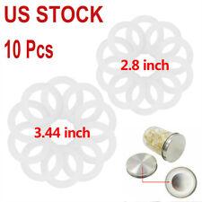 10Pcs Food-Grade Silicone Airtight Sealing Rings Gasket Leak Proof Mason Jar Lid