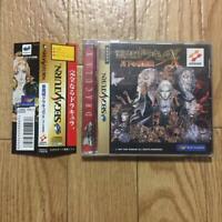Sega Saturn Castlevania DRACULA X OBI AKUMAJO Symphony of the Night Game Japan