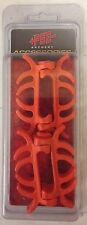 NEW PSE ARCHERY ORANGE COLORED LIMB BANDS DAMPNERS FOR PSE BOW LIMB BAND