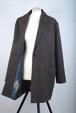 P880/50 Nice Things Paloma S. Herringbone Woolen Blazer Coat RRP £160 ,Size 12