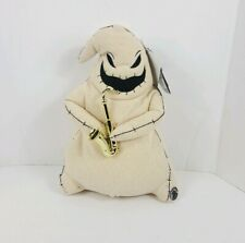 "Nightmare Before Christmas Animated 13"" Burlap Oogie Boogie Dancing Plays Music"