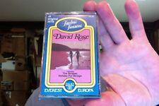 David Rose- self titled- new/sealed cassette tape- w/The Stripper