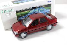 1:24 SCHABAK Ford Orion Ghia Dark Red Dealer New chez Premium-modelcars