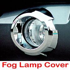 Chrome Fog Light Lamp Molding Garnish Cover Trim 2p For 2003-2006 Kia Sorento