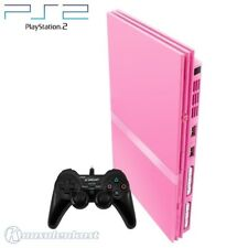 PS2 / Sony Playstation 2 - Konsole Slim #pink + Controller + Zub.