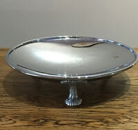 Vintage Silver Plated Bowl. 3 Legs. 23x6 Cm