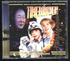Timemaster (Movie Soundtrack) Limited Ed 1/1000, SIGNED CD by Harry Manfredini