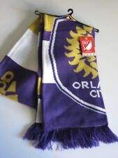 Adidas MLS Soccer Scarf Knit Winter Orlando City SC Purple Gold