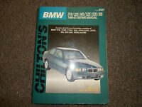Chilton    Repair    Manual    8993 BMW 318 325 M3 525 535 M5