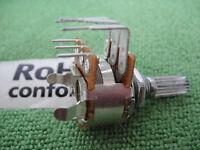 Panel PCB Mount Dual Step B-50K 13mm Split Shaft Tone Rotary Potentiometer,P008
