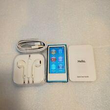Apple iPod nano 7th Generation 16Gb Blue Model A1446 Display Issue