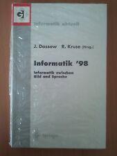 Informatik '98. Informatik Zwischen Bild und Sprache (OVP)
