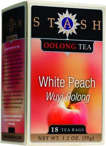 Oolong White Peach Tea by Stash, 18 tea bag