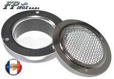 Grille inox 316 Entrée / Sortie d'air Col Diamètre 59 mm