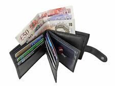 Mens Mans Soft GENUINE REAL Leather Wallet Credit Card Gents Hide Wallets RL46K